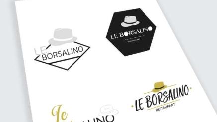 création logo restaurant Le Borsalino