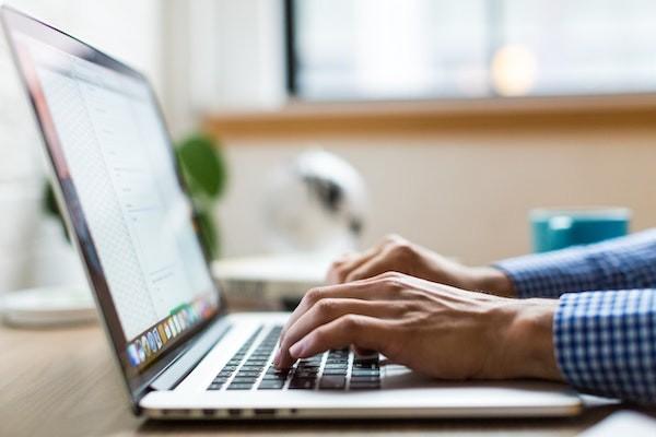 rédaction d'email
