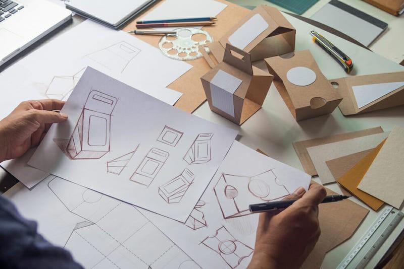 création de packaging